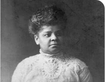 Portrait of Ida B Wells Barnett